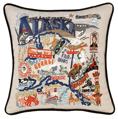Home State Pillows | Custom Throw Pillows | UncommonGoods