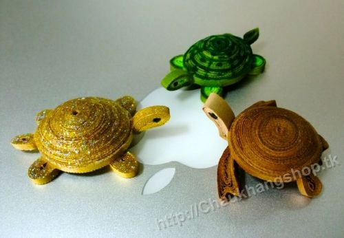 3D Model mammals - Three cute little turtles - by: www.Chaukhangshop.tk