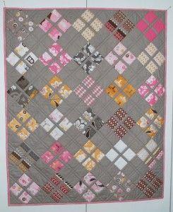 Daisy Baby Quilt Pattern - http://quilting.myfavoritecraft.org/free-quilting-patterns/