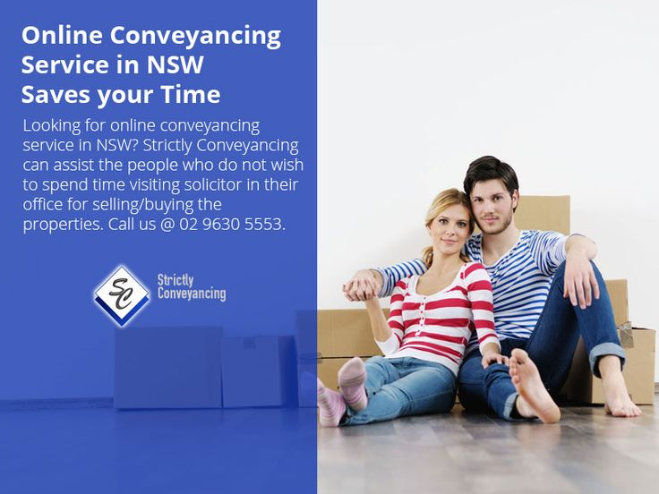 Online Conveyancing Service in NSW – Saves your Time - Looking for online conveyancing service in NSW? Strictly Conveyancing can assist the people who do not wish to spend time visiting solicitor in their office for selling/buying the properties. Call us @ 02 9630 5553.