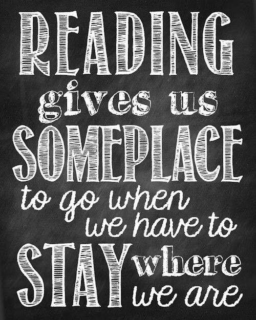 Cool quote for a reading takes you places theme - Reading quotes pinterest ...