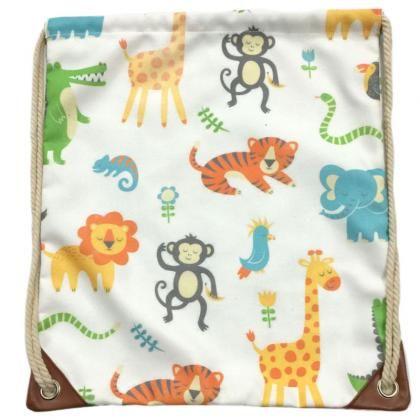 Látková taška se stahovací šňůrkou Zooniverse #taska #zooniverse #zviratka #bag