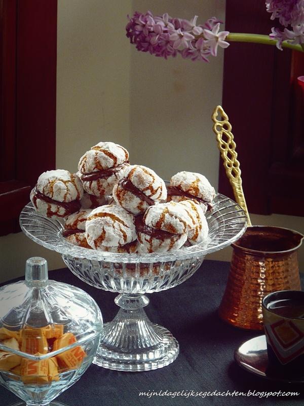 Hazelnut, Orange and Chocolate Cookies/ Орехово-Апельсиновое Печенье с Шоколадом