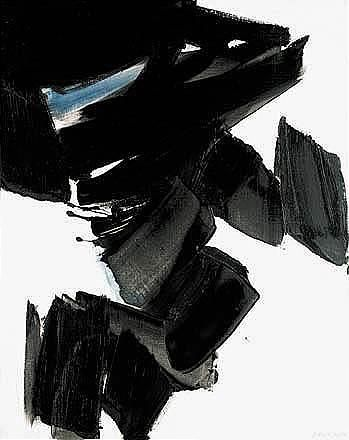 Pierre Soulages - Abstract Art - Informal Painting - peinture, 29 novembre 1963