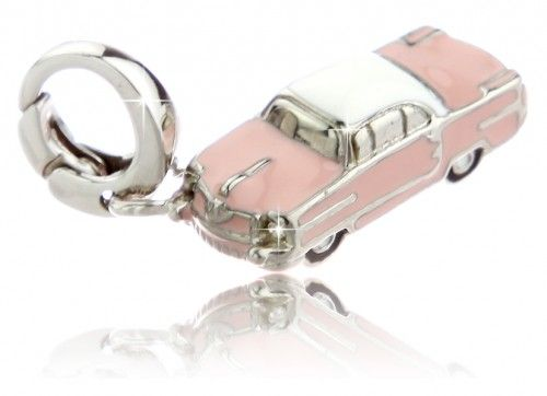 Fossil Charm Cadillac rosa aus Edelstahl JF84989040 on PopScreen