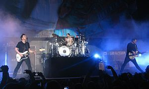 One day I would like to see Blink 182 live in concert.