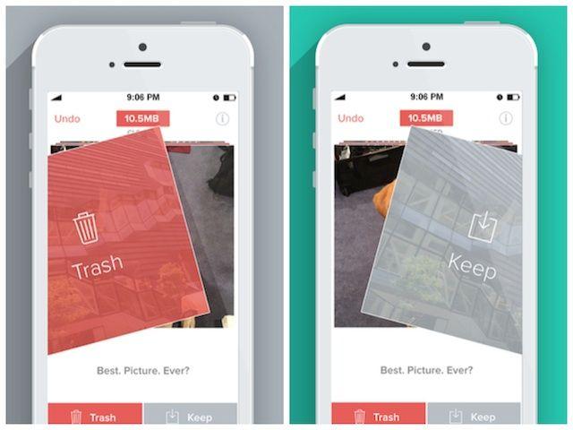Trash or Keep: Flic Uses Tinder Swipe Interface to Help You Organize Your iOS Photos