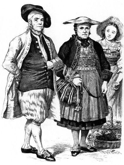 Швейцарские костюмы