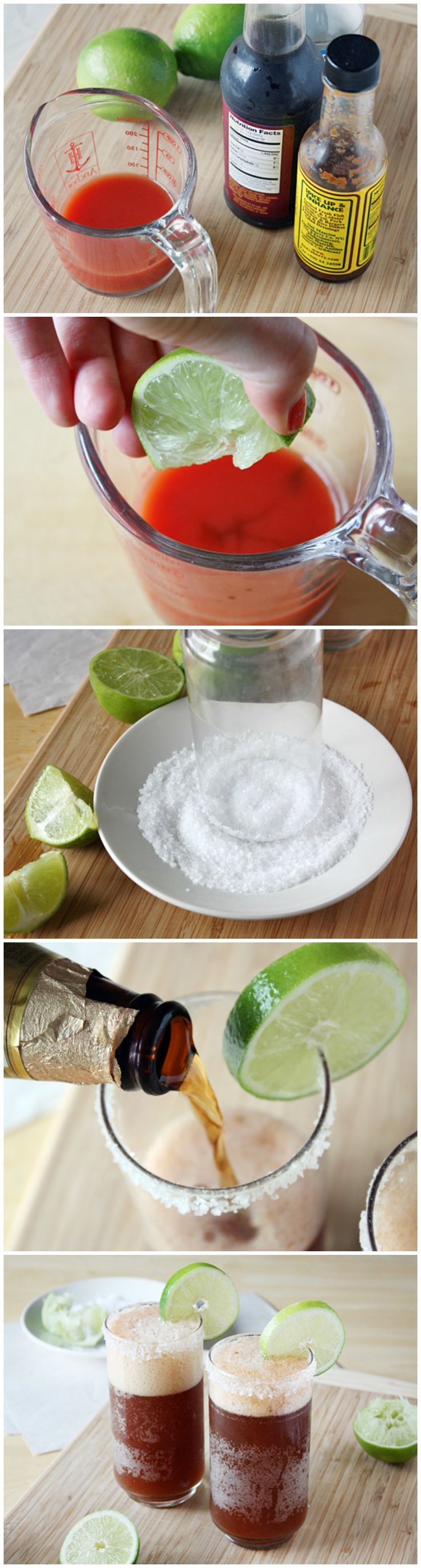 how to make mexican beer cocktail