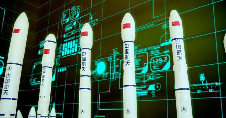 Tianjin Aerospace Long March rocket Manufacturing Facilities 中国航天长征火箭天津制造工厂