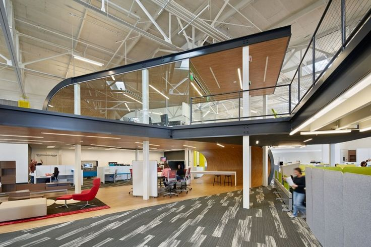 mezzanine office space. modern office playful and ambitious one workplace project in santa clara california voor de bijenkorf die ik ooit ga openen mezzanine space n