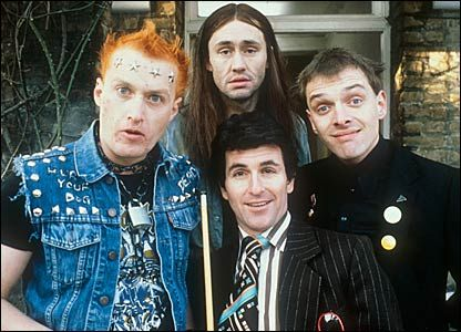 The young Ones. Bloody hilarious! Another of my alltime fave britcoms