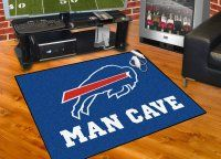 NFL Buffalo Bills Mats - Buffalo Bills All Star Man Cave Mat Floor Mat. $34.99 Only.