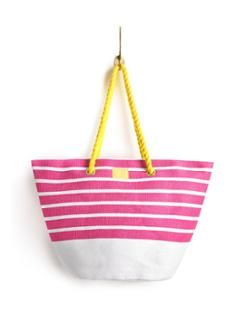 Beach Bag from Joules. Perfect for keeping treasures safe from the sand.