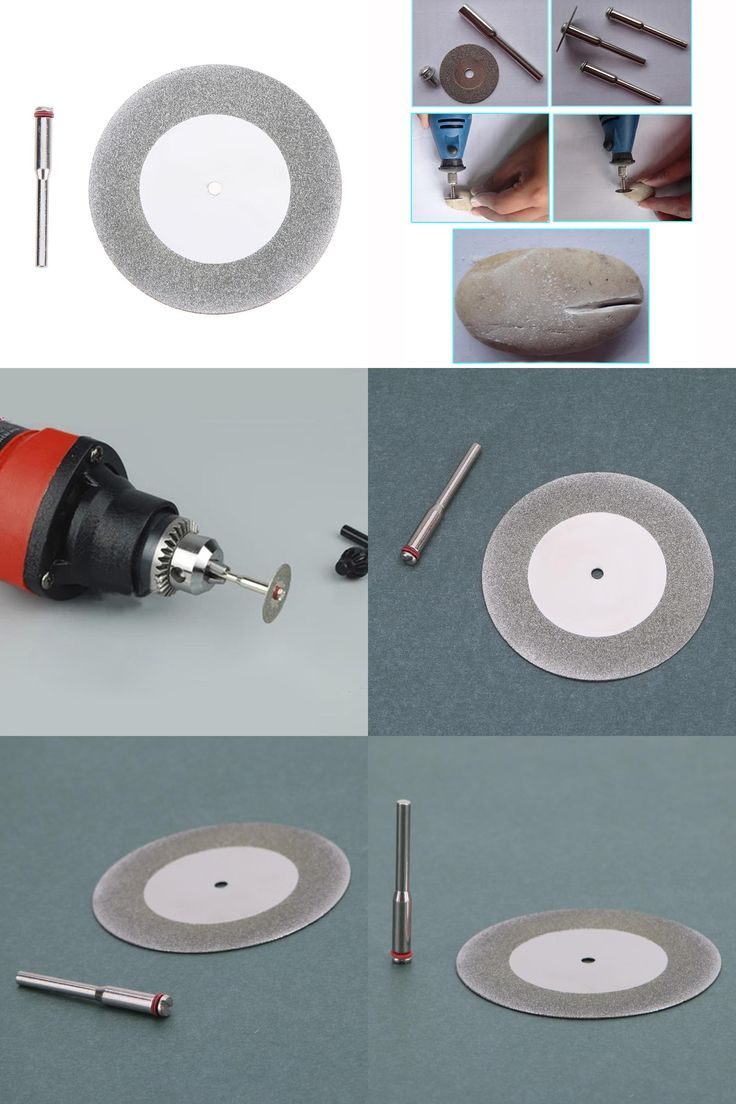 [Visit to Buy] Mini Electric Saw Abrasive Saw Blade 60mm Diamond Cutting Disc for Drill Dremel Accessories Steel Rotary Tool Circular Saw  #Advertisement