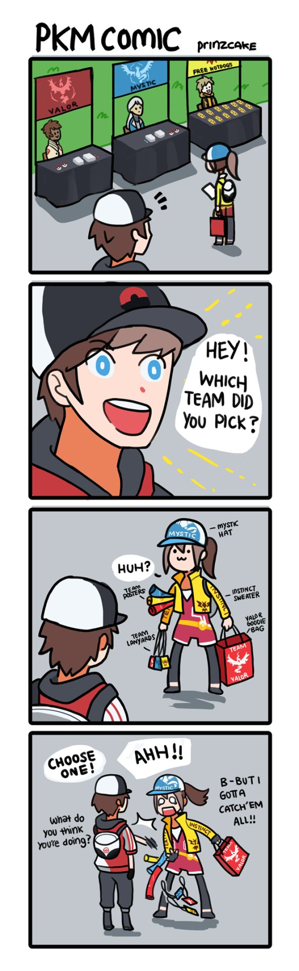 Prinz Cake : Photo >>>> UGH, I can relate! I had trouble choosing between Instinct and Mystic, but in the end I chose Mystic.