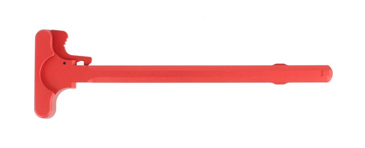 If you are looking for a custom touch of color for your AR, Guntec USA has the solution for you! Made in the U.S.A. of 6061-T6 Aluminum, this AR-15 charging handle is anodized with a red finish. Durable and reliable, this is a drop-in solution for your rifle or pistol build.