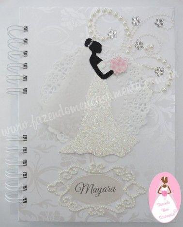 Agenda da noiva Pure Glamour IV - Agenda da noiva