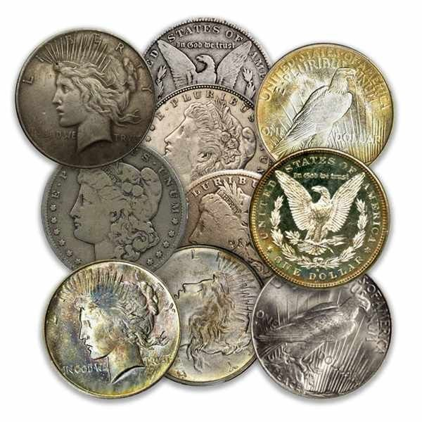 Random Year Morgan Or Peace Silver Dollar Good Condition Md Pd Ry 21 87 Aydin Coins Jewelry Buy Gold Coins Silver Coins Silver Bar Gold Bullion With Images Silver