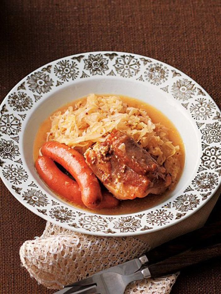 ドイツの伝統料理が、粒マスタードで簡単に。|『ELLE a table』はおしゃれで簡単なレシピが満載!