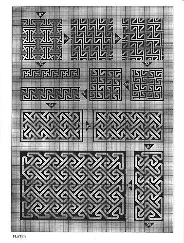 Celtic Charted Designs (орнаменты для вышивки) - Рукодельница, вышивка - ТВОРЧЕСТВО РУК - Каталог статей - ЛИНИИ ЖИЗНИ
