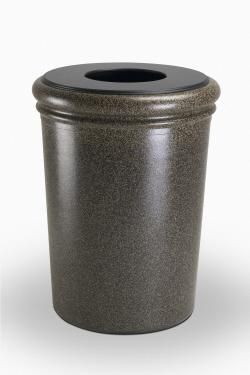 50 Gallon StoneTec Indoor Outdoor Concrete Fiberglass Decorative Trash Can 28 best Cans images on Pinterest  Recycling