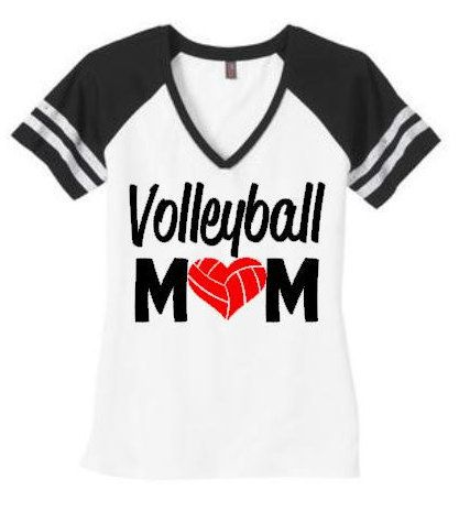 Volleyball mom shirt Volleyball mom top by SillyWillysBoutique
