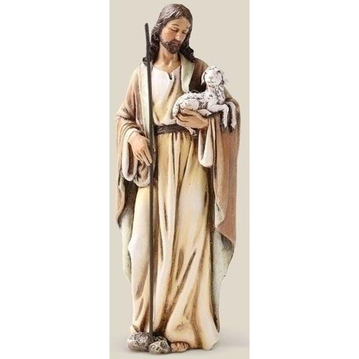 Good Shepherd 6inch Figurine by Joseph's Studio - JOSEPH STUDIOS - Religious Figurines - COLLECTABLES
