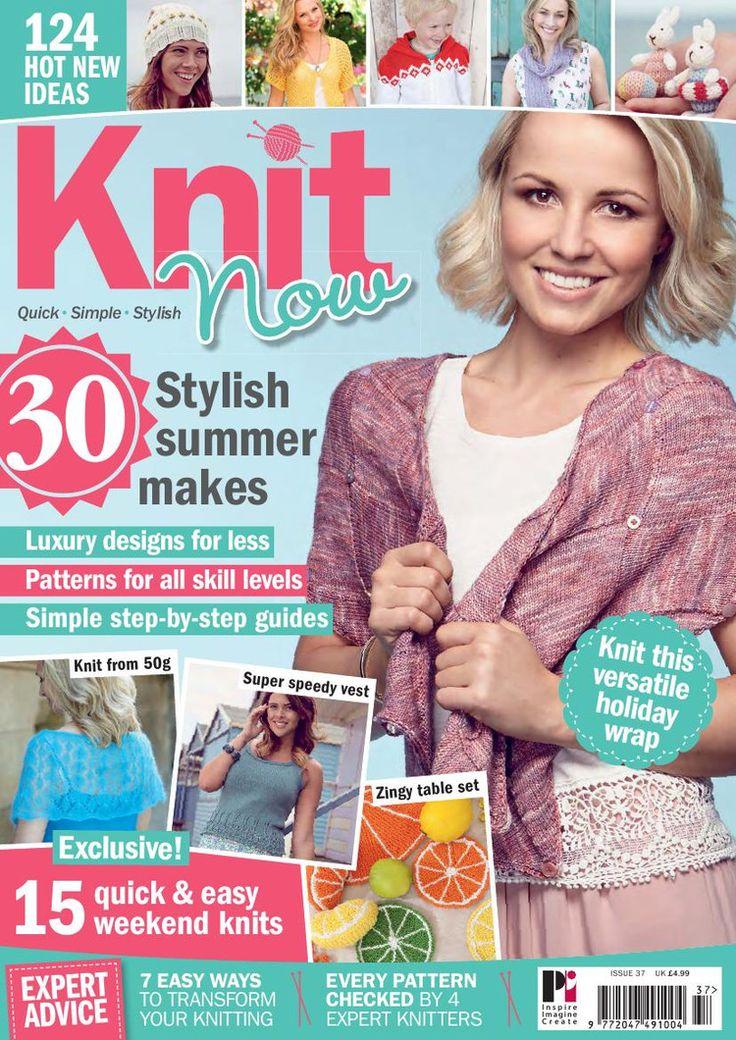 Knit Now  Issue 37 2013 - 轻描淡写 - 轻描淡写