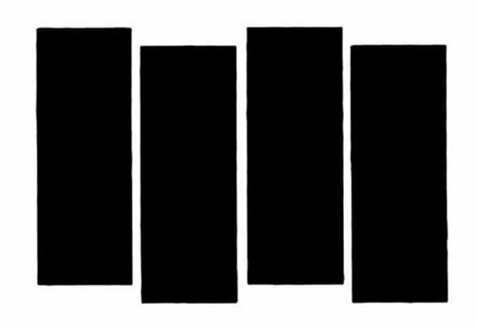 Simplicity: Black Flag. This one is immediate and unmistakable. For better or worse this is one of the most tattooed band logos ever, used by punks the world over for self-branding with an ethos/ideology as well as for showing allegiance to the musicians. Created by Raymond Pettibon in 1977, it is still charged with subcultural cachet.