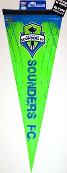 SEATTLE SOUNDERS MLS Premium Felt Collector's Pennant