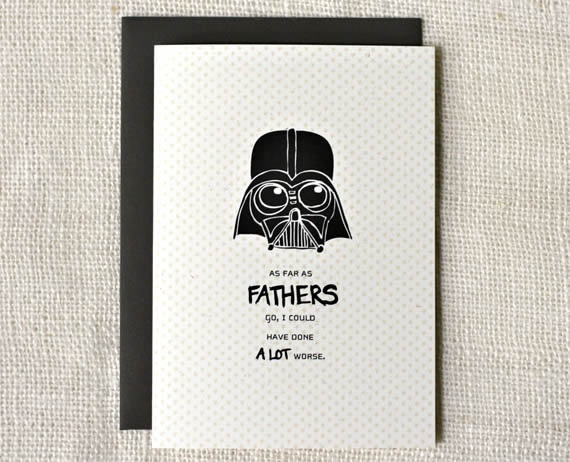 Star Wars Father's Day Card: Darth Vader, Father Day Cards, Stars War, Fathers Day, Father'S Day, Diy Gifts, Funny Cards, My Dads, Crafty Ideas
