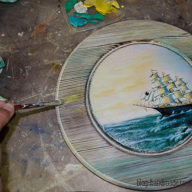 Лессировка акриловыми красками - как сделать красивый декор своими руками