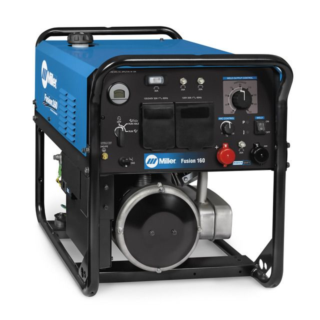Miller Introduces New Lighter-Weight Fusion 160 Welder/Generator #construction #compact