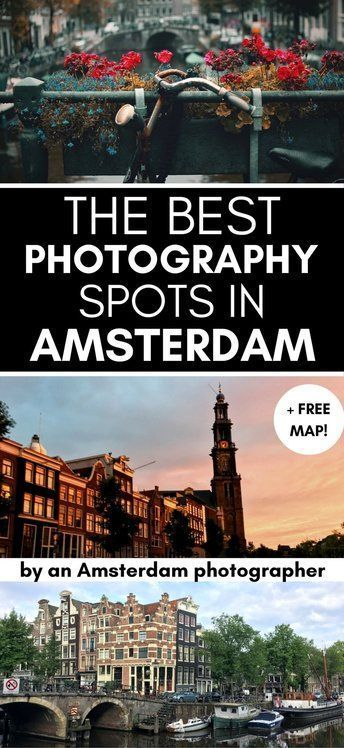 See the most instagrammable spots in Amsterdam. Tips from a local photographer on the best places to take photos in Amsterdam!
