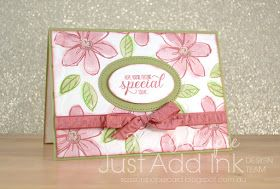 Watercolour, Garden In Bloom, Fluttering TIEF, Stitched Shapes Framelits, Stampin' Up!