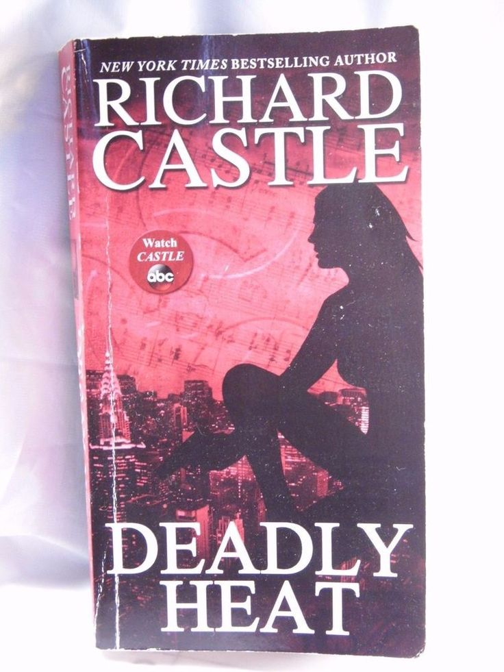 Deadly Heat 5 by Richard Castle (2014, Paperback) Spine and cover worn, read onc