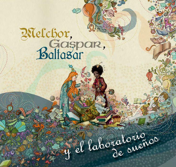 """#LIBRO #INFANTIL #ILUSTRACION #CROWDFUNDING - """"Melchor, Gaspar, Baltasar y el laboratorio de sueños"""". Crowdfunding Verkami: http://www.verkami.com/projects/12070-melchor-gaspar-baltasar-y-el-laboratorio-de-suenos"""