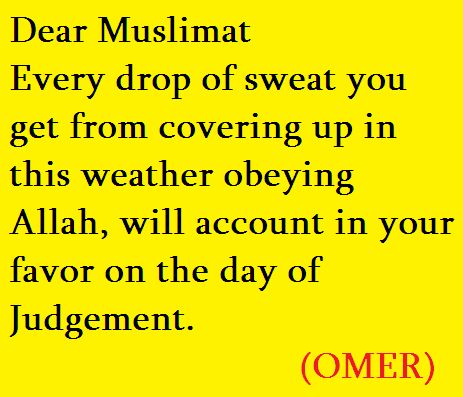 Reminder for the Muslim women