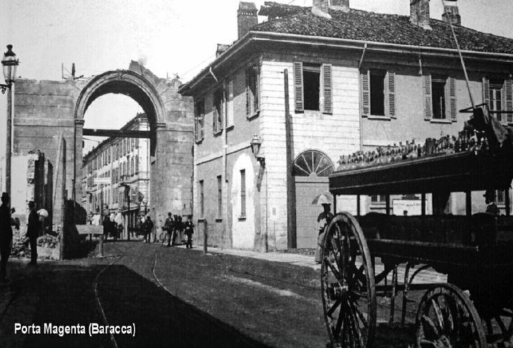 Porta Magenta(piazzale Baracca)