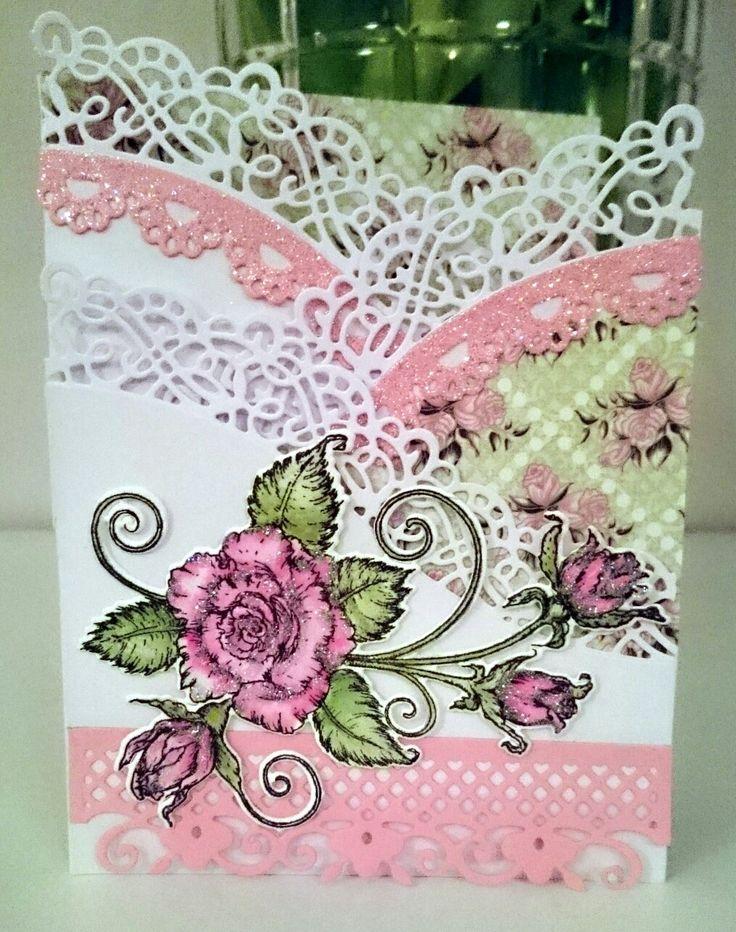 Ruusuinen kortti