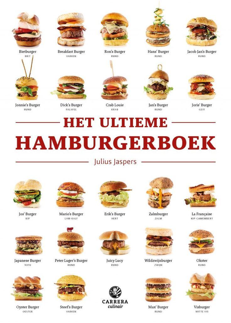 In het Ultieme hamburgerboek geeft chef Julius Jaspers (HappyHappyJoyJoy en Julius Bar & Grill) je 1.542.240 hamburgerrecepten en legt hij je alles uit over broodjes, patty's en sauzen.