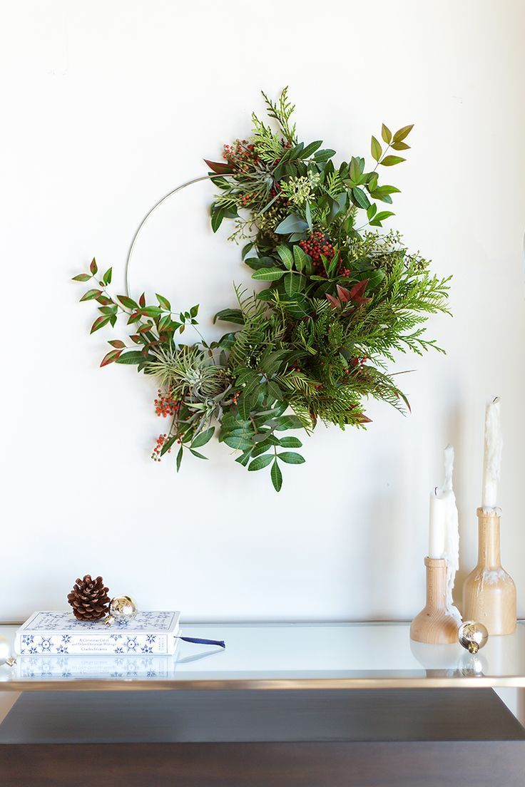 HOW TO MAKE A GORGEOUS HOLIDAY WREATH