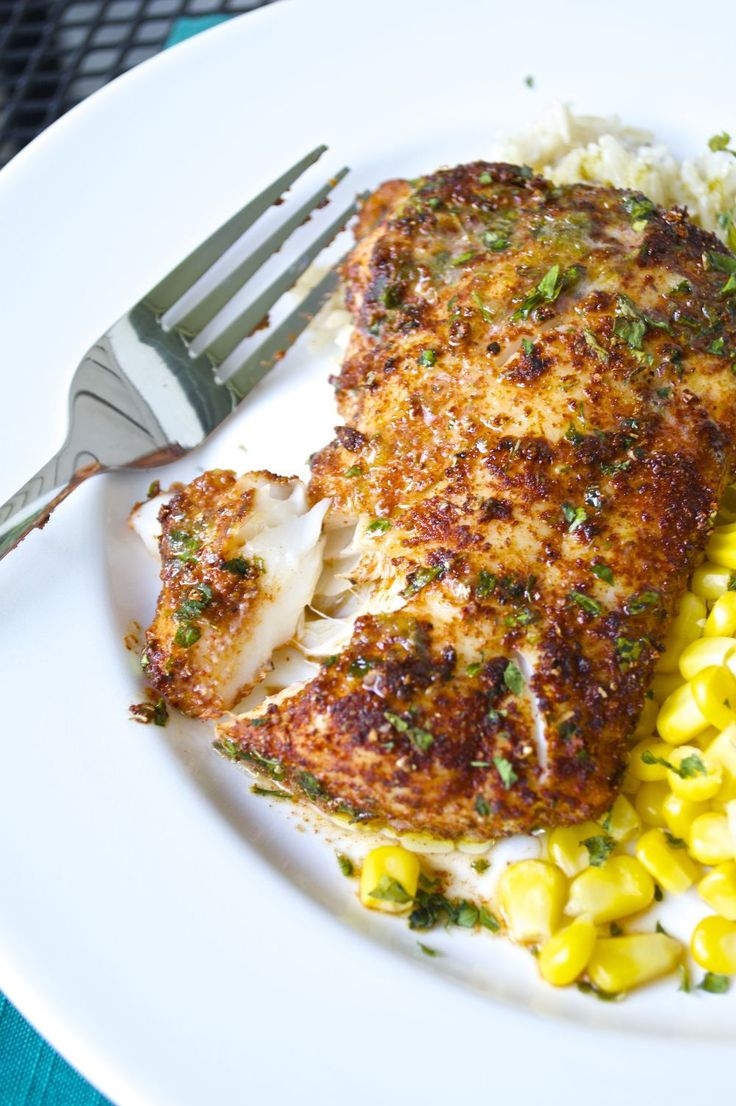 Cod filets are rubbed with a flavorful spice mixture before roasting to perfection. Top this roasted chili-lime cod is with a delicious lime-butter sauce!