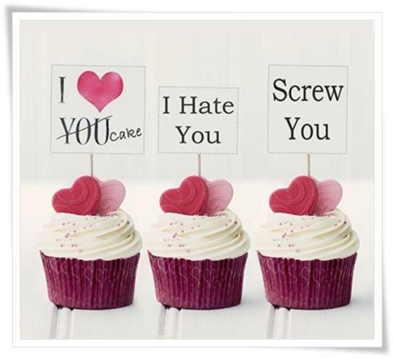 Anti Valentine's Dessert Idea