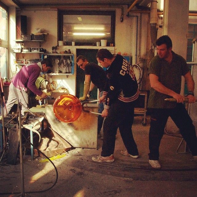 Another #ManicMonday in Murano, with our glassmaking masters hard at work! #yourmurano