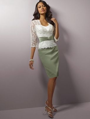 Mother of the Bride dress? If the wedding was this color