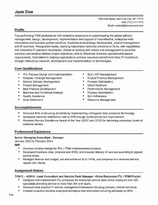 Best Professional Resume Template Lovely Resume For Nanny Awesome Resume Template Samples Nanny Resume Sample Di 2020