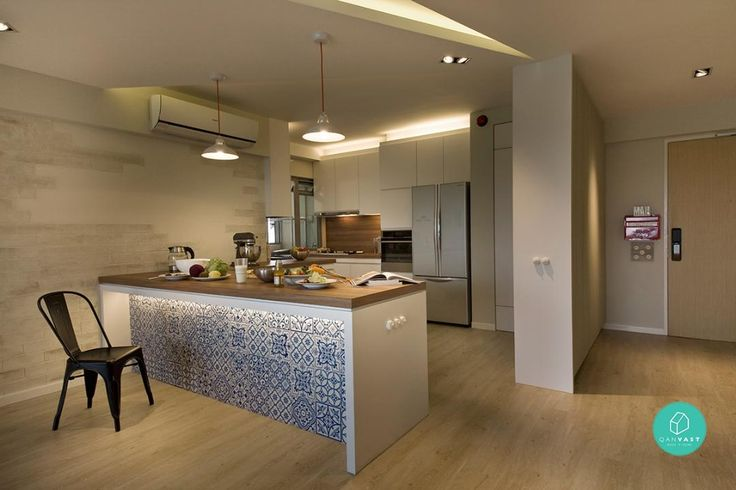 3 Open-Concept Kitchen Ideas For Small Homes | Article | Qanvast | Home Design, Renovation, Remodelling & Furnishing Ideas