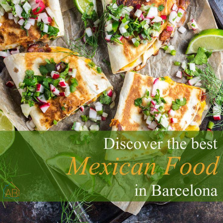 Best Mexican restaurants in Barcelona, Spain.